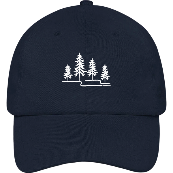 Trees Dad Hat