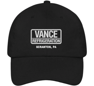 Vance Refrigeration Dad Hat - The Office Hats - HatHub