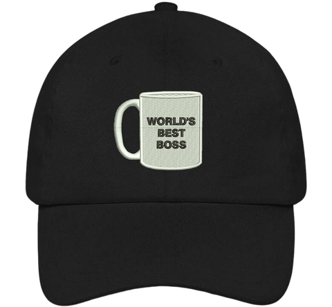 World's Best Boss Dad Hat - The Office Hats - HatHub
