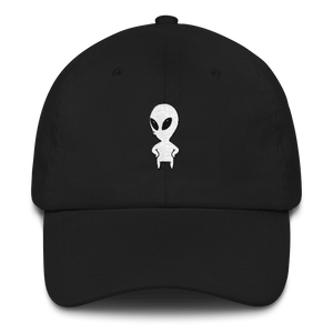 Standing Alien Dad Hat