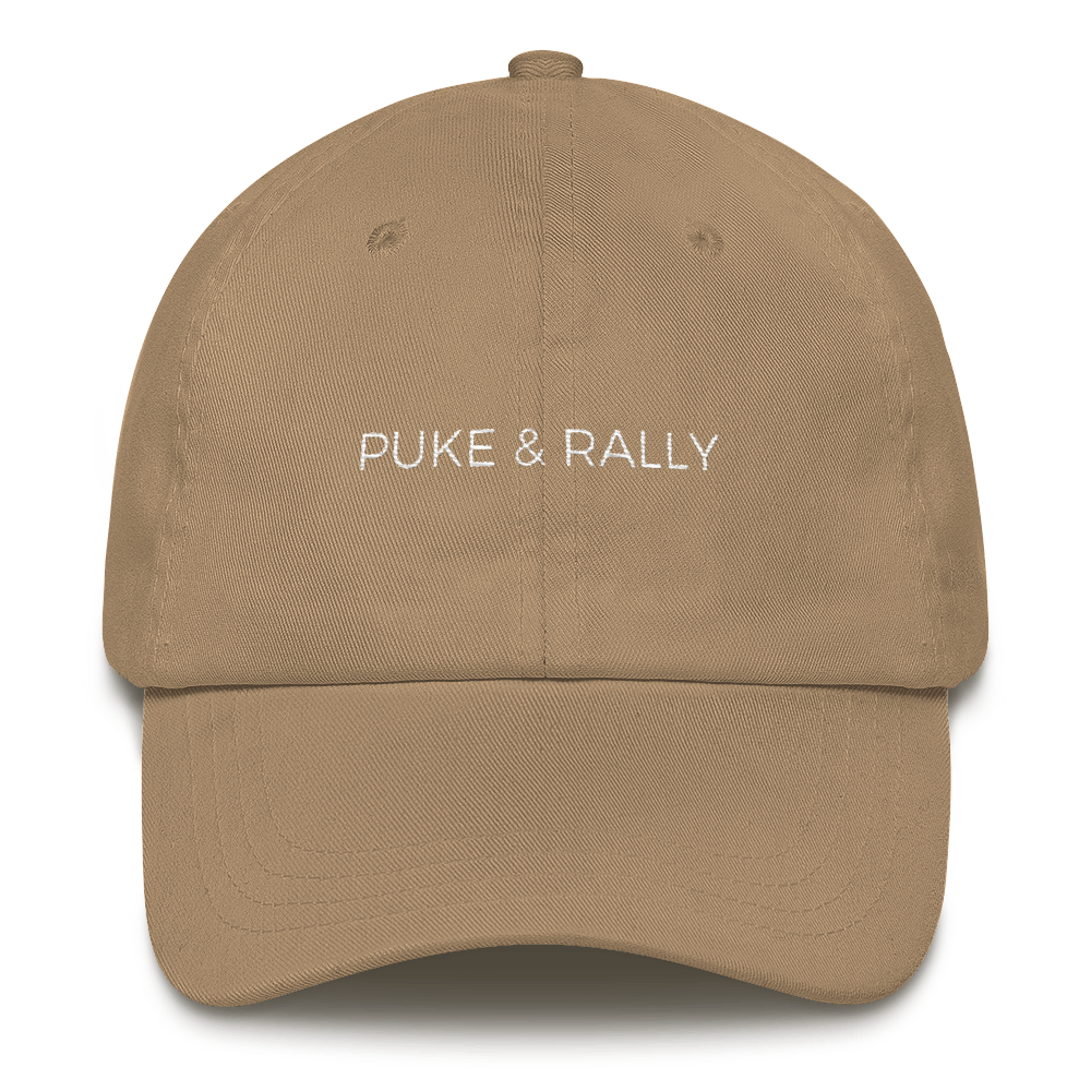 Puke & Rally Dad Hat