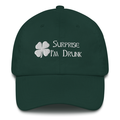 Surprise I'm Drunk Dad Hat