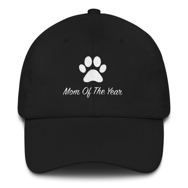Paw Mom Of The Year Dad Hat