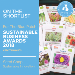 Blue Patch Sustainable Business Awards 2018