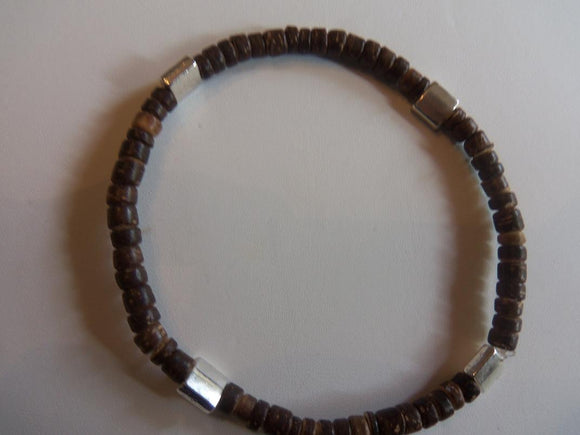 Wood Stretch Bracelet
