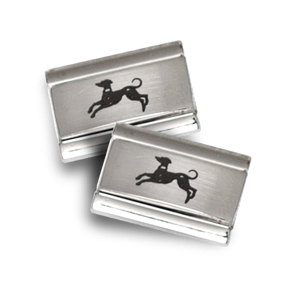 Rectangular Sterling Silver Cuff Links
