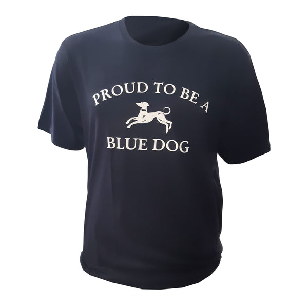 Unisex Navy Proud To Be A Blue Dog T-Shirt