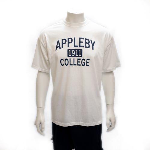 Unisex Appleby White T-Shirt