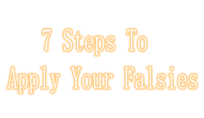 7 Steps For The Perfect Falsie Application