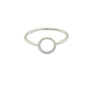 Simple Circle Ring - Spear and Stone