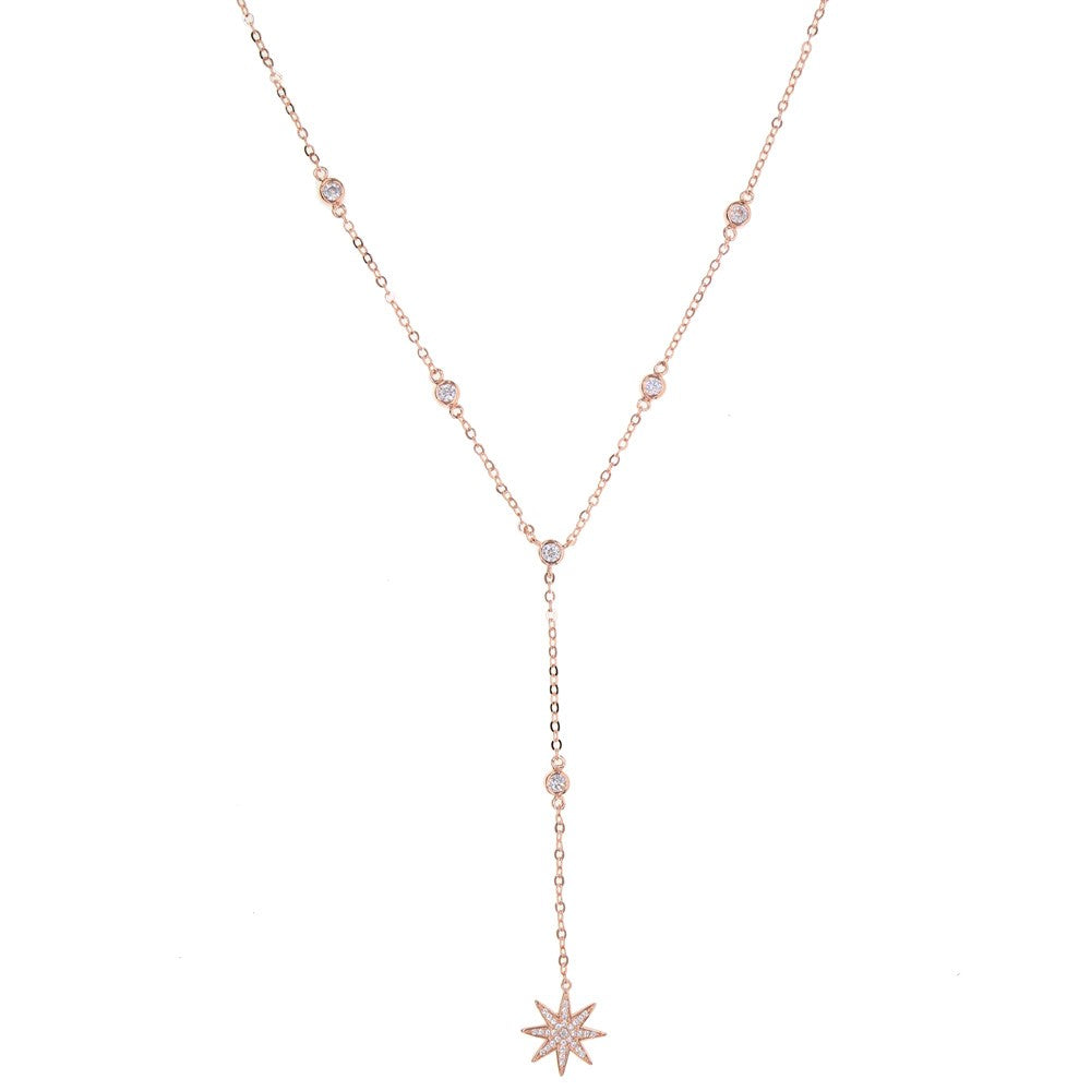 Star Y Shape Necklace - Spear and Stone