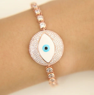 Lucky Evil Eye Bracelet - Spear and Stone