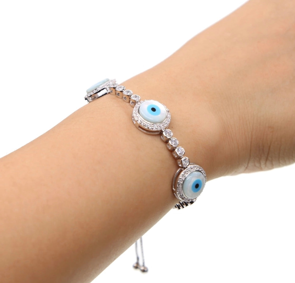 Bold Evil Eye Bracelet - Spear and Stone