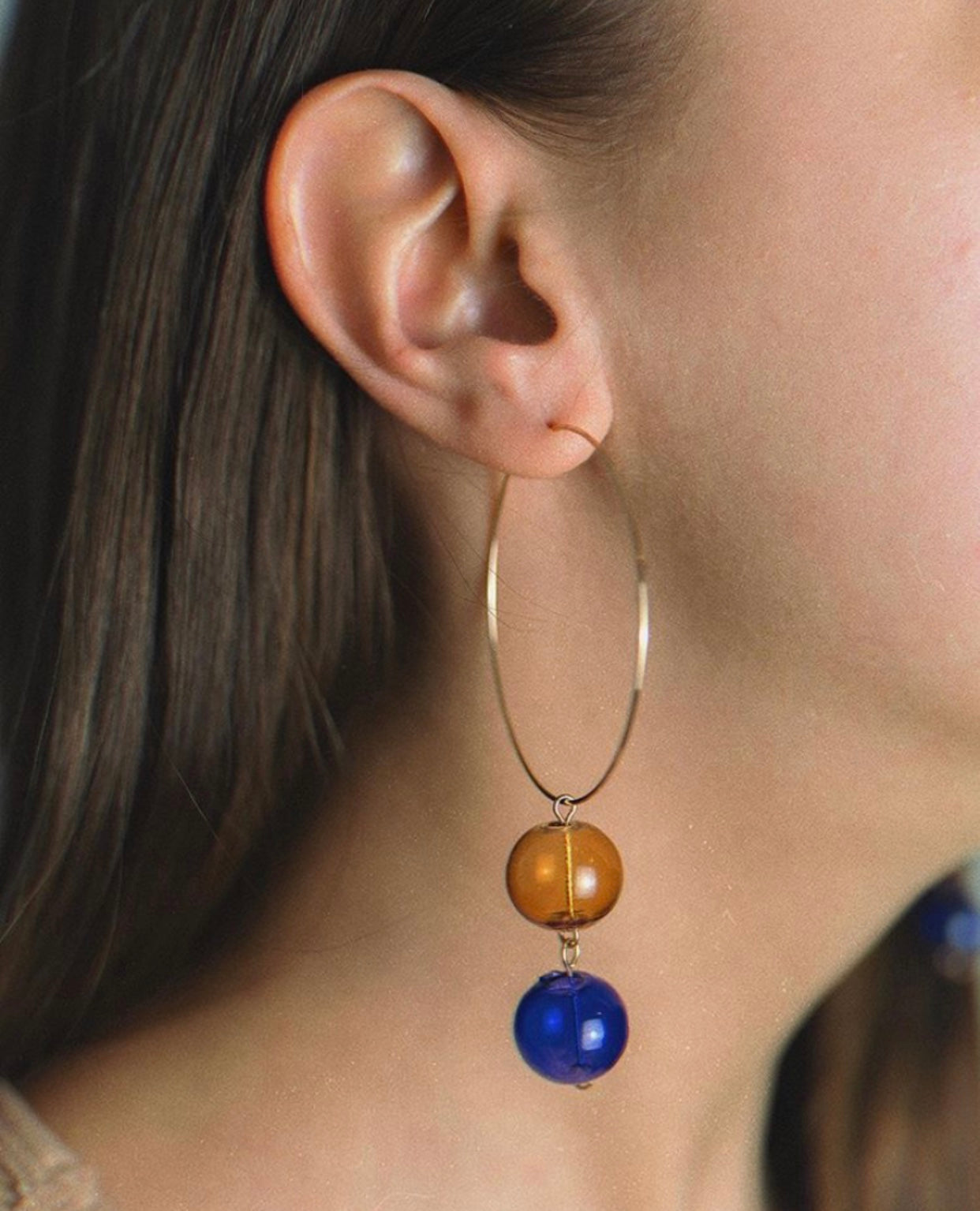 Cosmos Hoop Earrings - Spear and Stone