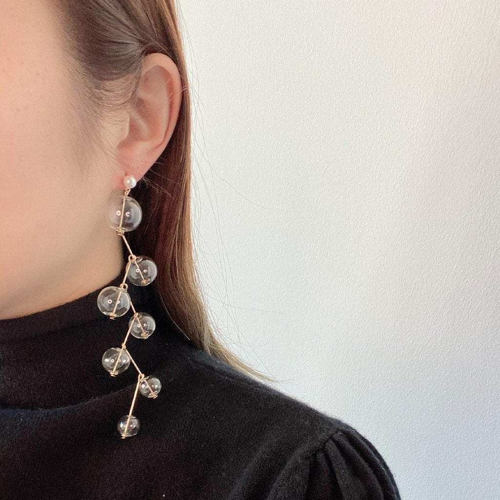 Helix Long Drop Earrings - Spear and Stone