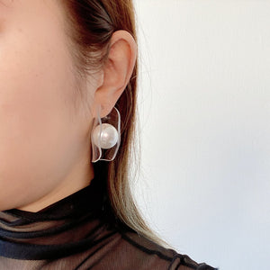 Mantle Pearl Earrings - Spear and Stone