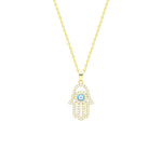 Hamsa Necklace - Spear and Stone