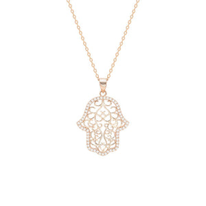 Arwen Hamsa Necklace - Spear and Stone