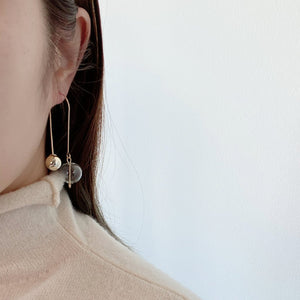 Sputnik Loop Earrings - Spear and Stone