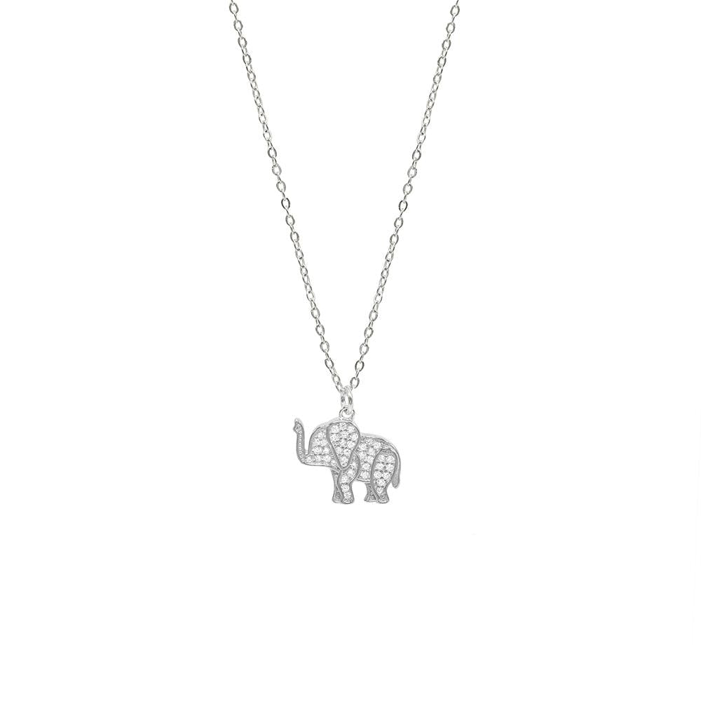 """Henry"" The Elephant Necklace - Spear and Stone"
