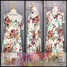 Load image into Gallery viewer, Shop beautiful Paisley Raye Azalea Dresses and more at pineapplesandpalmtrees.net or locally in the Twelve Bridges Community of Lincoln, California.