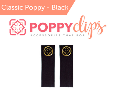 PoppyClips Accessory Black, Gold,
