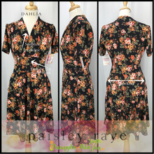 Load image into Gallery viewer, Shop beautiful Paisley Raye Dahlia Dresses and more at pineapplesandpalmtrees.net or locally in the Twelve Bridges Community of Lincoln, California.