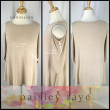 Load image into Gallery viewer, Shop beautiful Paisley Raye Dandelion Tops and more at pineapplesandpalmtrees.net or locally in th