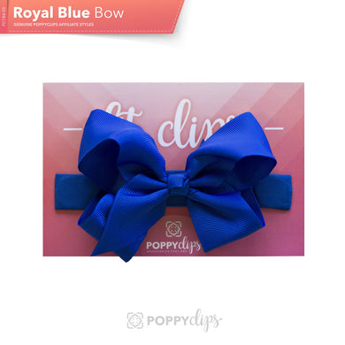 PoppyClips, FitClip: blue bow