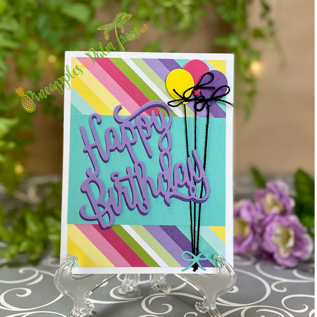 Greeting Card: Happy Birthday - balloons | Stampin' Up!