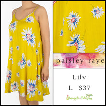 Load image into Gallery viewer, Paisley Raye Lily Dress S Black Floral, shop this Paisley Raye Lily Dress and more at pineapplesandpalmtrees.net or locally in Lincoln, California, in the Twelve Bridges Community.