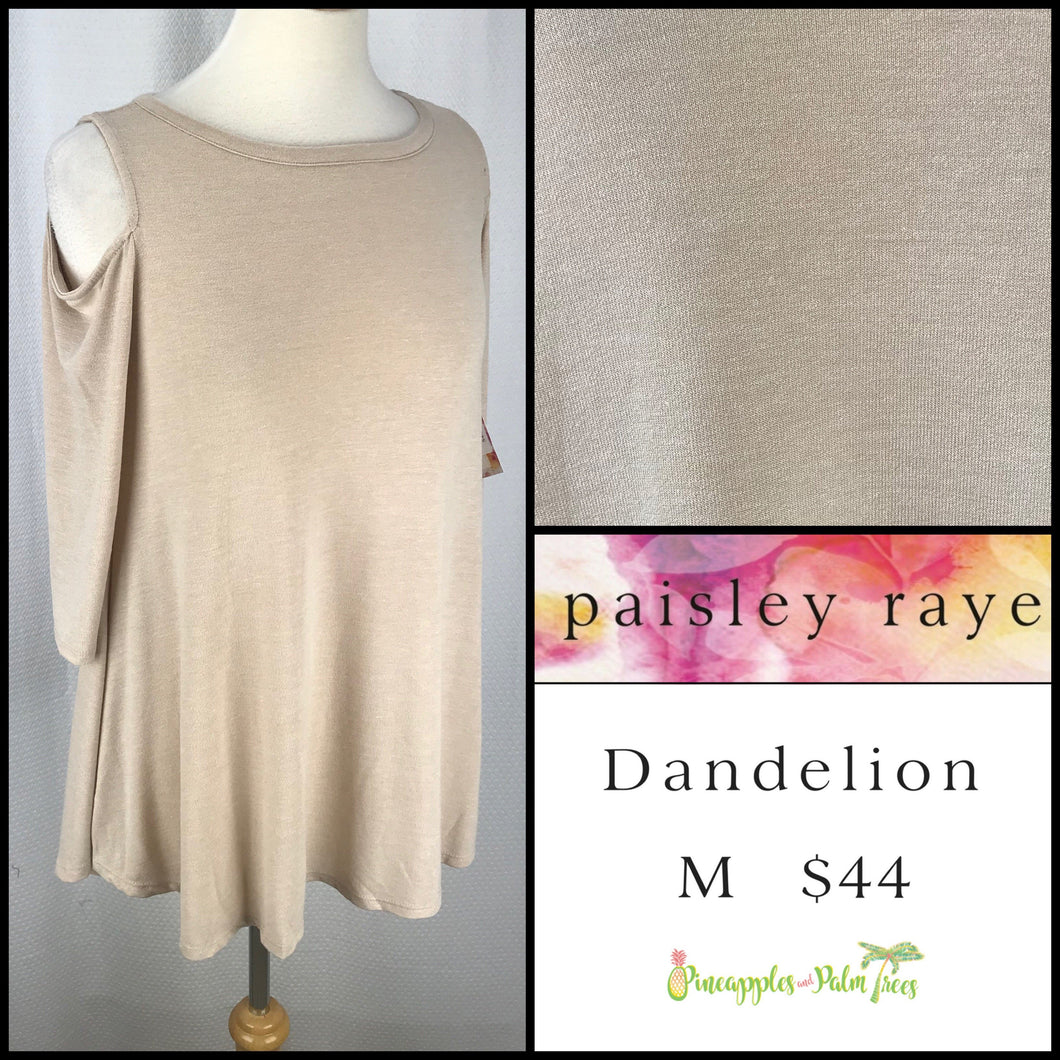 Paisley Raye Dandelion M Wheat Solid, shop this Paisley Raye Dandelion Top and more at pineapplesandpalmtrees.net or locally in the Twelve Bridges Community.Lincoln, California.