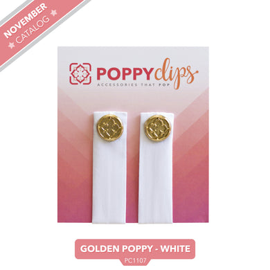 PoppyClips Accessory Whitle Gold
