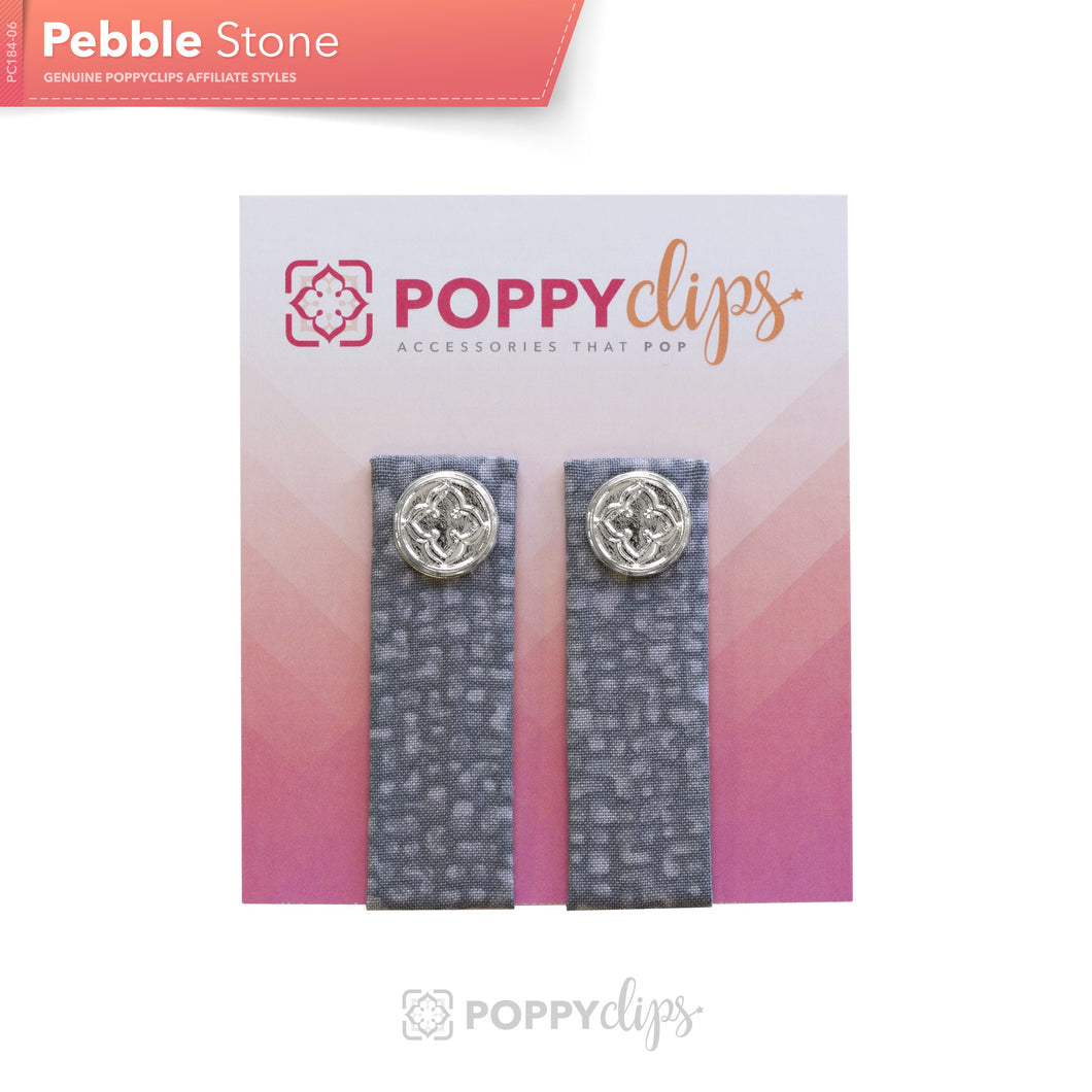 PoppyClips Accessory Gray Multi with Silver