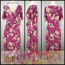 Load image into Gallery viewer, Shop beautiful Paisley Raye Poppy Dresses and more at pineapplesandpalmtrees.net or locally in the Twelve Bridges Community of Lincoln, California.