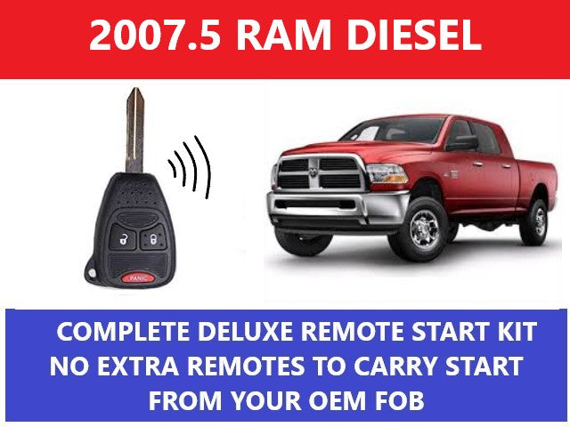 Plug and Play Remote Start 2007 1/2 Dodge Ram Diesel