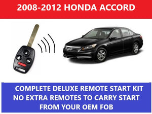 Plug and Play Remote Start Fits 2008-2012 Honda Accord