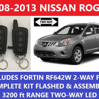 Plug and Play Remote Start Fits Nissan Rogue 2008-2013 Fortin RF-642W