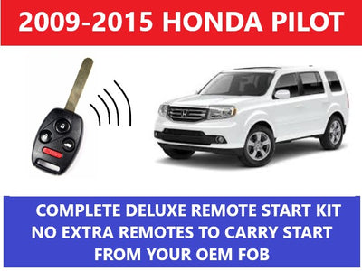 Plug and Play Remote Start Fits 2009-2015 Honda Pilot