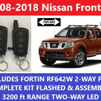 Plug and Play Remote Start Nissan Frontier 2008-2018 Fortin RF-642W