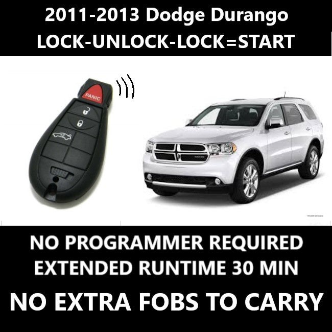 Plug & Play Remote Starter 2011-2013 Dodge DURANGO