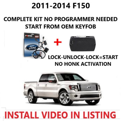 Plug and Play Remote Start 2011-2014 Ford F150