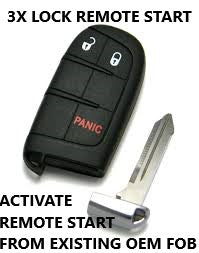 PLUG & PLAY REMOTE START 2014-2017 GRAND CHEROKEE & DURANGO