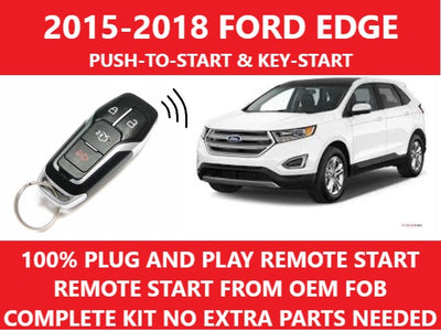 Plug and Play Remote Start Fits 2015-2018 Ford Edge