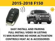 Plug and Play Remote Start 2015-2018 Ford F150