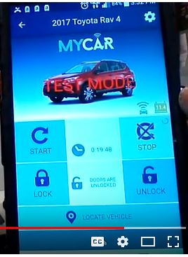 Crimestopper MyCar Telematic Smartphone Control for Remote Start Systems