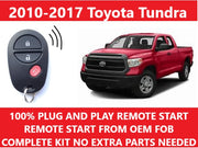 PLUG & PLAY REMOTE START 2010-2017 TOYOTA TUNDRA