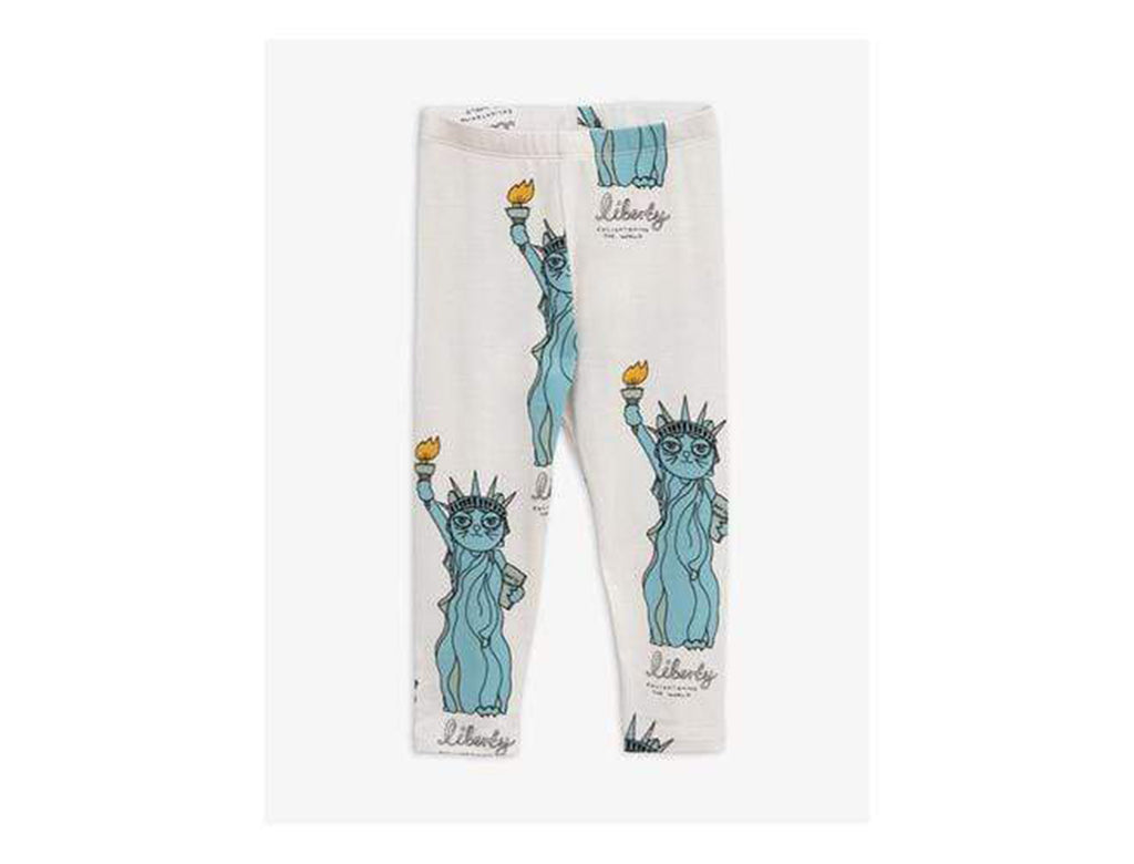 'Liberty' Legging Pants in Light Grey