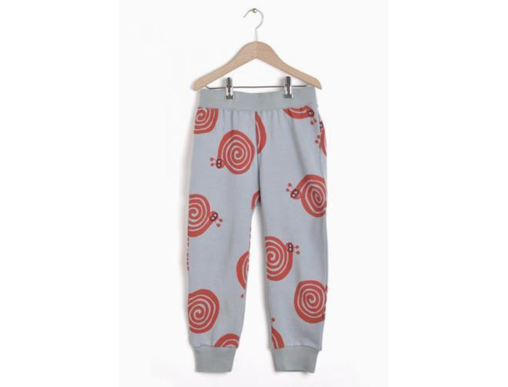'Red Snails' Pants In Wolof Green
