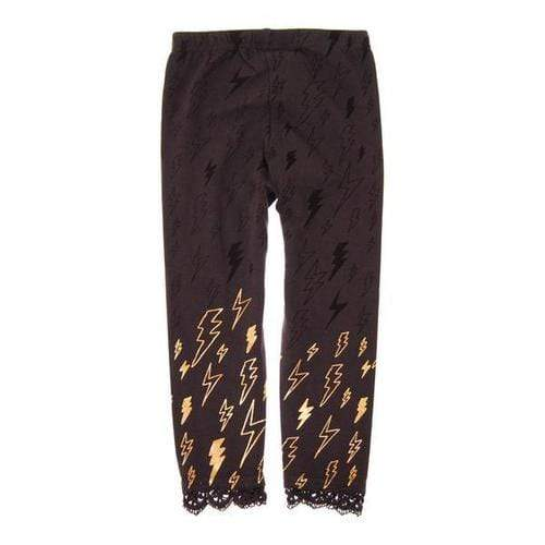 Lightning Bolt Legging In Dark Grey